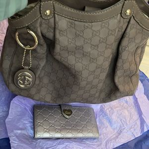Gucci GG Sukey Med Guccissima Leather/Wallet $2599